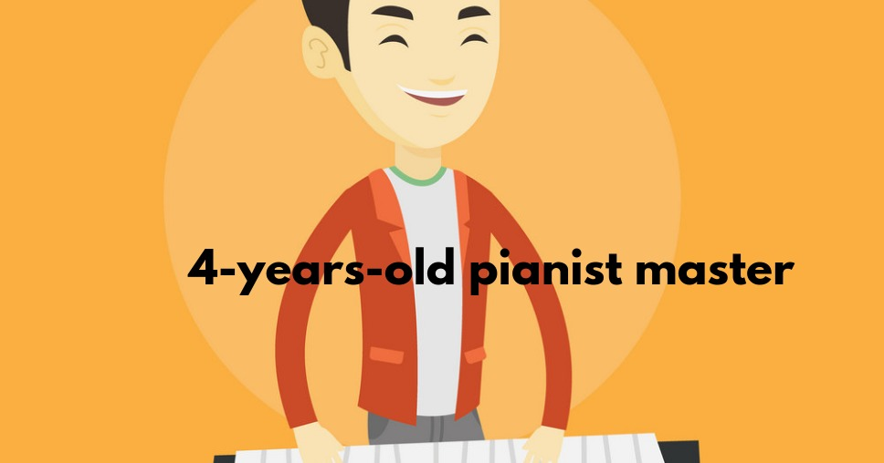 4-years-old pianist master
