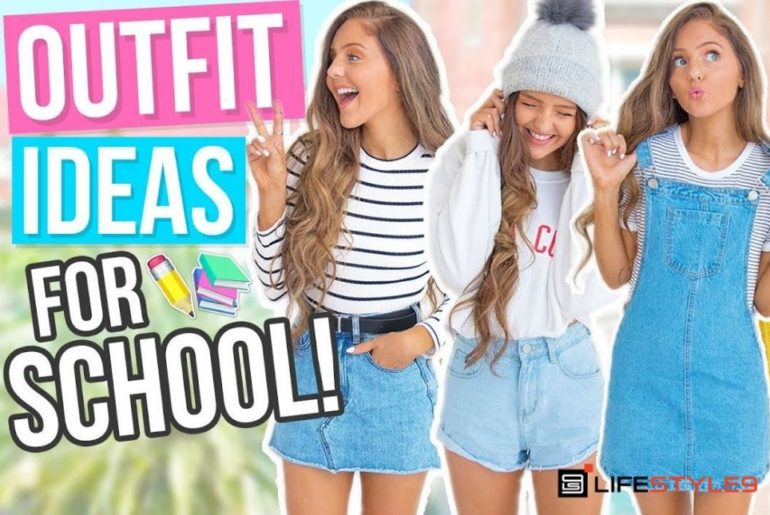 10 Cute Outfits For School Girls (Middle & High School)